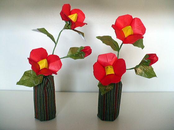 ハート 折り紙 クリスマス折り紙飾り作り方 : divulgando.net