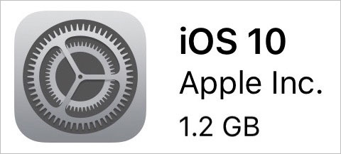 iOS10不具合-容量不足