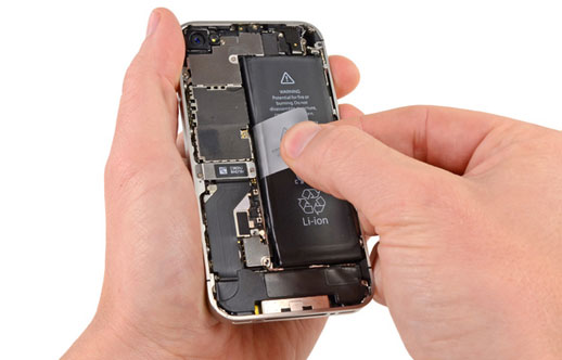 iPhone 5S/5C/5/4S/4/3GS/3Gバッテリーの交換する方法