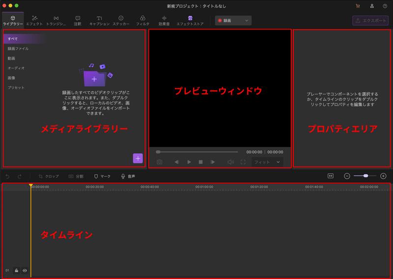 動画編集ツール