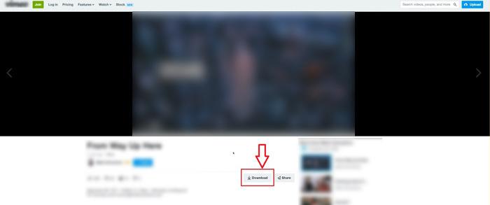 Vimeoをダウンロードする方法01