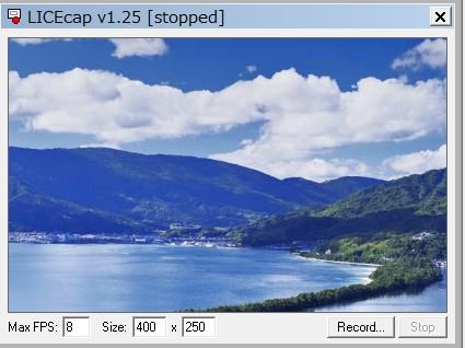 mp4をgifに変換するソフト-LICEcap