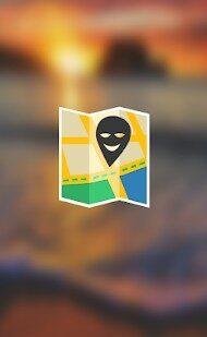 偽の場所(模擬GPS)
