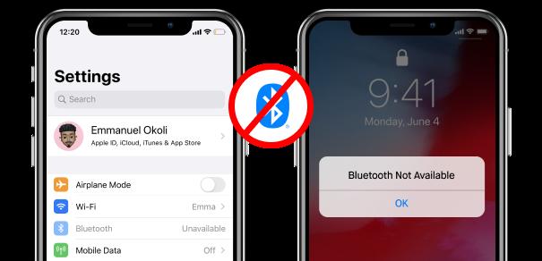 Bluetoothの不具合