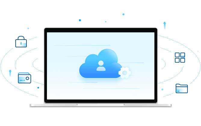 Manage files in different clouds