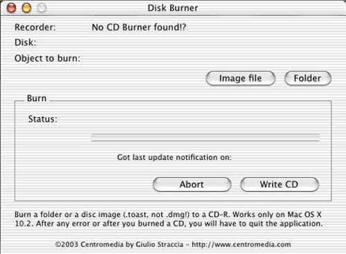Mac用DVD burner