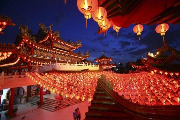 中国正月休み