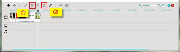 動画トリミングWindows8