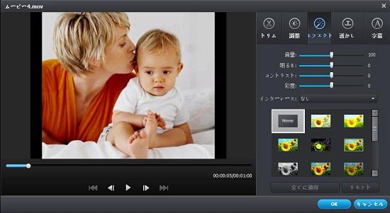 DVD iPod変換の編集