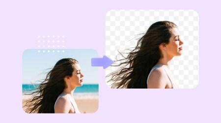 写真の背景を削除するツール