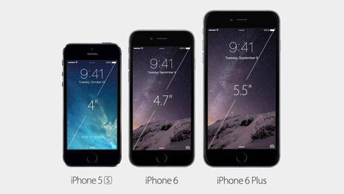 従来iPhoneサイズ比較