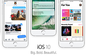iOS 10にアップデートする