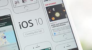 iOS 10へのアップデート