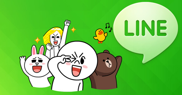 Androidおススメソフト4:LINE