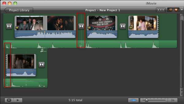 iMovieでBeat Makerを使用する方法
