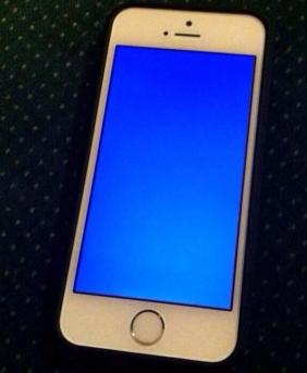 iPhoneブルースクリーンの原因