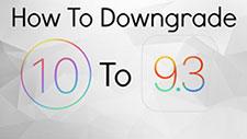 iOS10のダウングレード:iOS10からiOS9に戻す(ダウングレード)方法