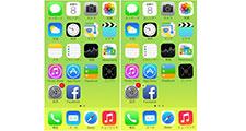 iPhone 7/6sのアイコン変更はありますか?