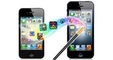 ドコモのアンドロイドからiPhoneへデータ移行するには?