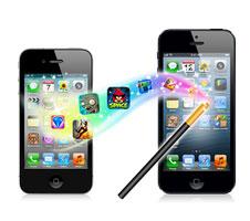 携帯のデータを手軽に転送できる『Mobileデータ移行』