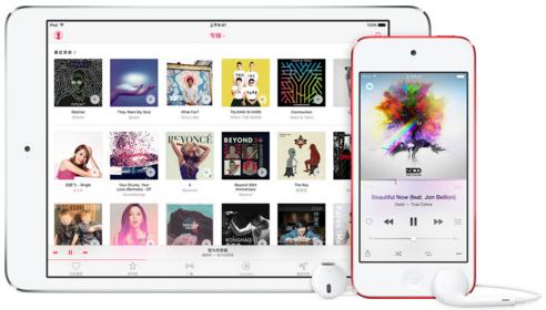 iPhoneからiPadに写真や音楽などのデータを移動する