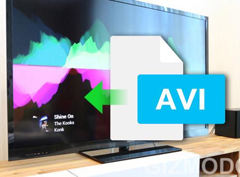AVI動画をTVで再生する方法(Samsung TVも含む)