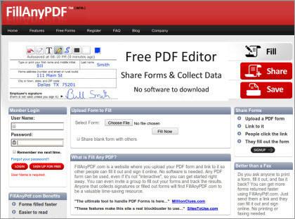 トップ 5 オンライン PDF エディタ