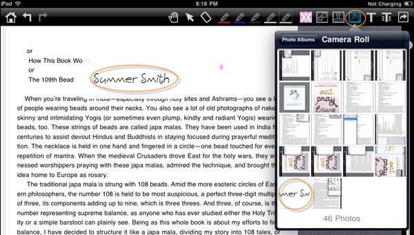 iPadでもできる!PDFに署名を追加する方法とは