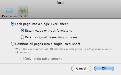 PDFをExcelに変換する方法