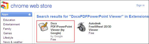 ChromeでPDFファイルを開く方法