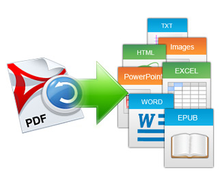 PDFからOfficeに変換