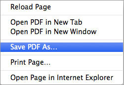 safari not open PDF mavericks