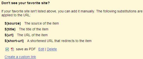 google readerをpdf形式で保存