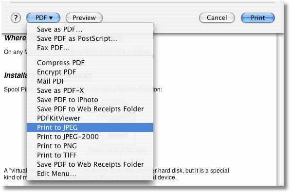 pdf creator mac