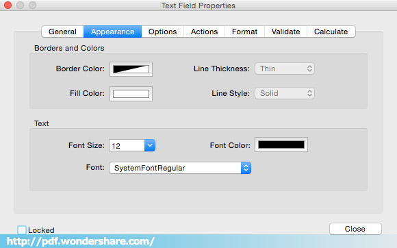 MacでPDFフォームを作成する方法