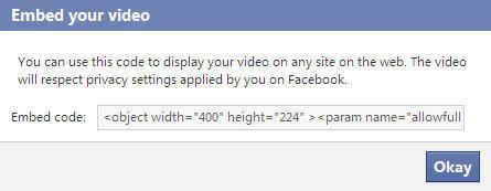 slideshow for facebook