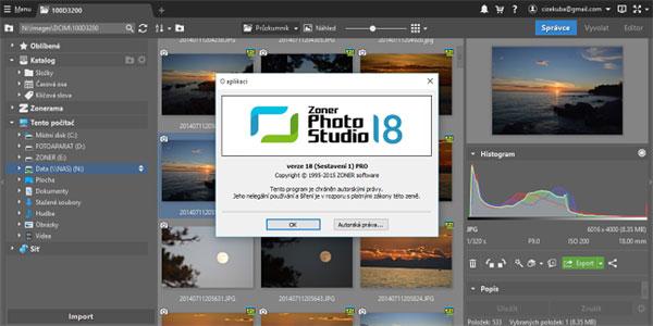 Zoner Photo Studio 18