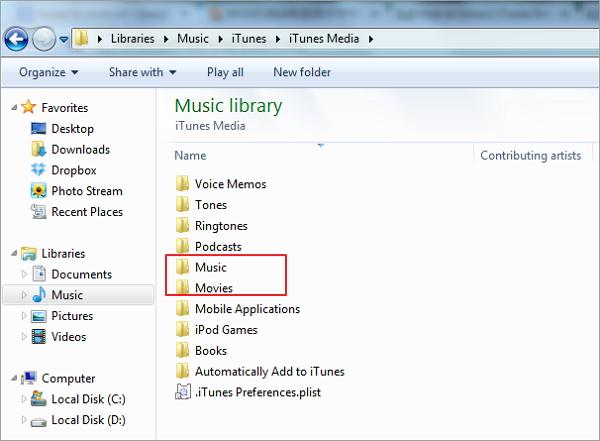 iTunesからNexus 5へ音楽を転送
