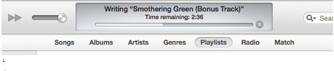 iTunesライブラリーバックアップ