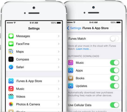 iOS7のAppleデバイスへ音楽を転送