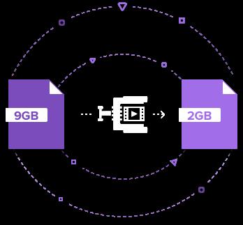 mp4形式に圧縮できるフリーソフトの紹介