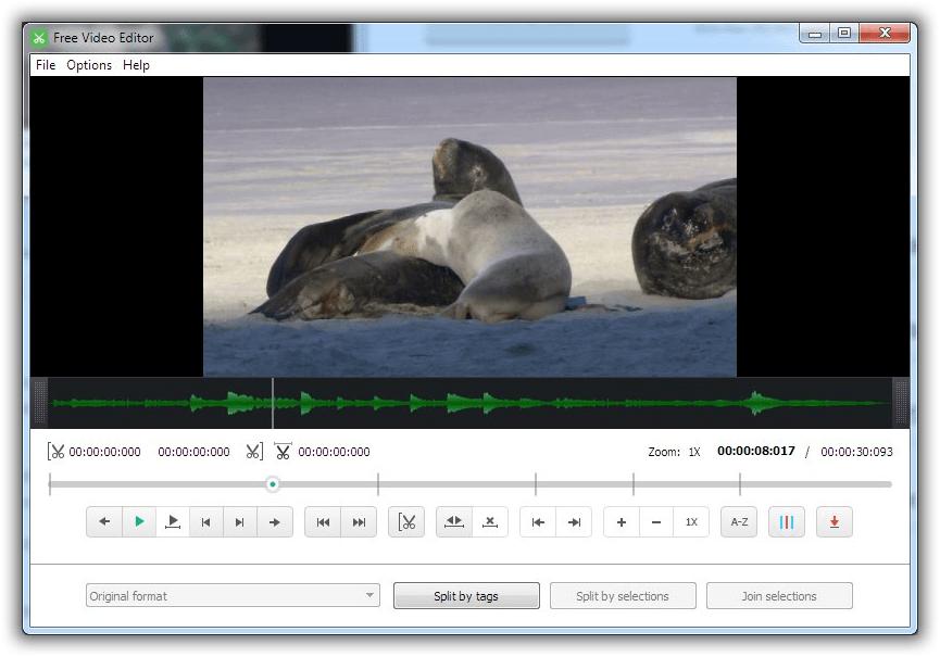 MP4ファイルを圧縮できるフリーソフトFree Video Editor