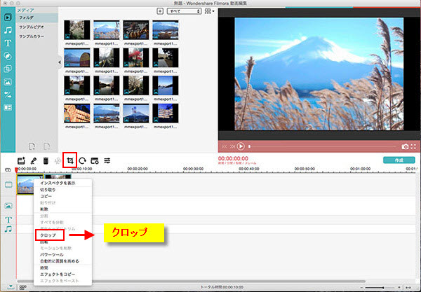 Mac OS X版のLightworks