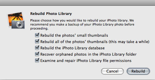 recover iphoto