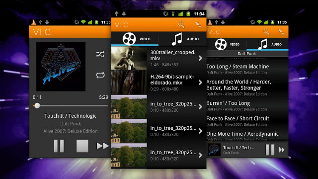 Android動画再生速度 VLC for Android beta