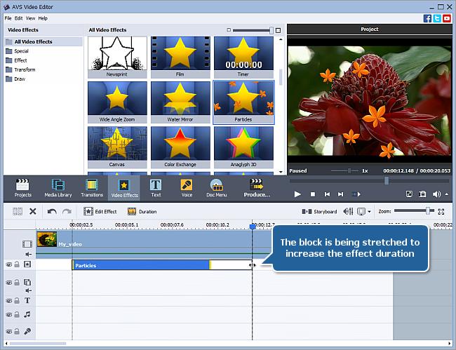 有料動画編集ソフト AVS Video Editor 7.1