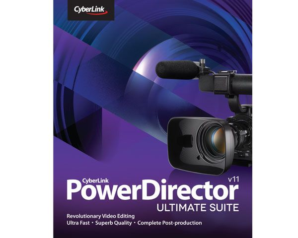 動画編集ソフト Cyberlink PowerDirector