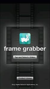 frame grabber -動画を写真に