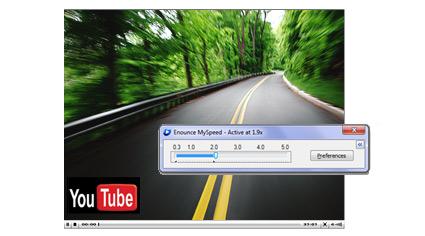 Youtube動画の再生速度を調整するソフト MySpeed