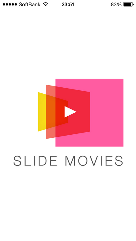 Android版の動画保存アプリ SLIDE MOVIES